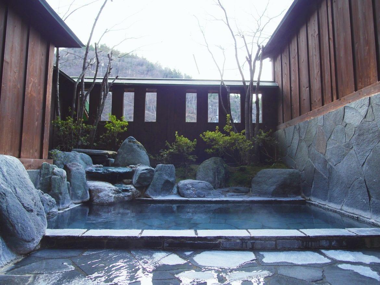 Relaxing Japanese Hot Springs